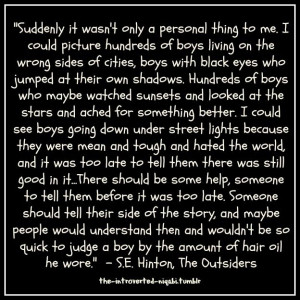 The Outsiders Quotes From The