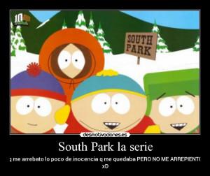 Carteles Y Desmotivaciones De South Park