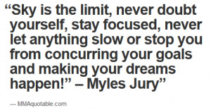 Positive Messages from Myles Jury