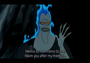 ... Disney Quote, Hades Hercules, Disney Villains, Hercules Disney Hades