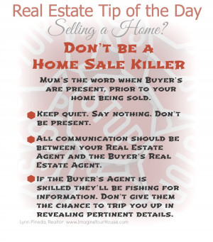... Real Estate tips. Or feel free to email me at LynnP@ImagineYourHouse