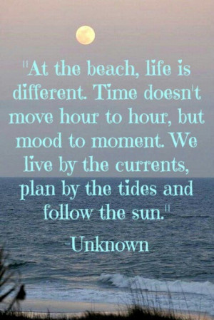 Beach Quotes Unknown