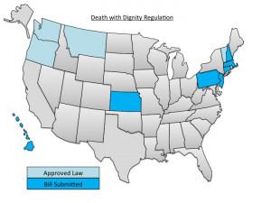 Where is Death with Dignity legal in the U.S.?