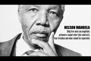The famous quote that is often attributed to Nelson Mandela from his ...