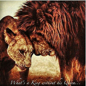 What's a King without his Queen...