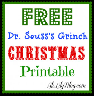... printable! I choose one of my favorite Christmas quotes to share with