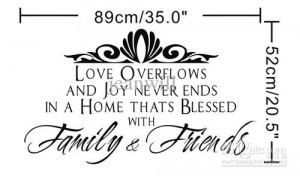 catalog friends and family gather here family wall art decal