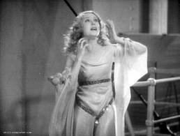 Fay Wray in the old King Kong