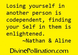 Quotes About Codependency   Losing yourself in another person is ...