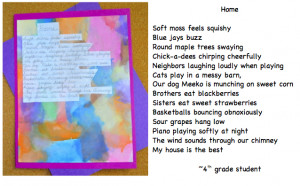 Descriptive Poetry & Tissue