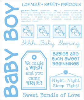 Baby Boy Quotes For Scrapbooking