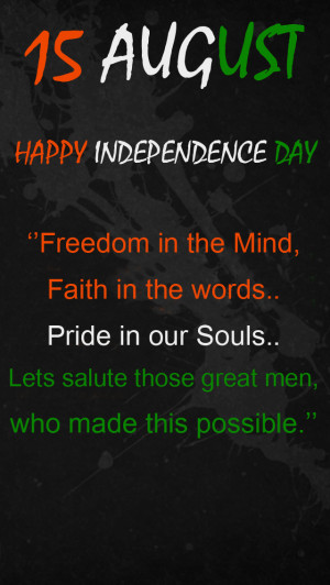 15 August Independence Day Quotes