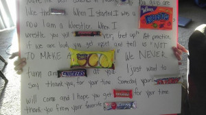 candy bar thank you letter to wrestling coach