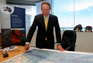 Andrew Forrest CEO of Fortesque Mining.