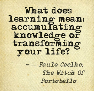 Paulo Coelho , Witch of Portobello quote