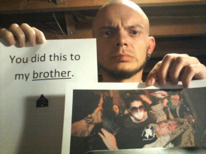 """US police brutality galvanizes veterans in support of the """"Occupy ..."""