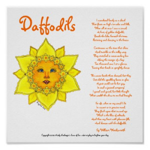daffodils poem by william wordsworth