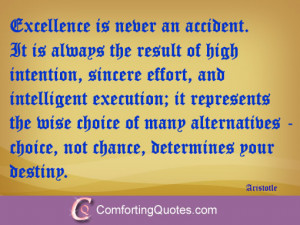 Aristotle Quote About Excellence