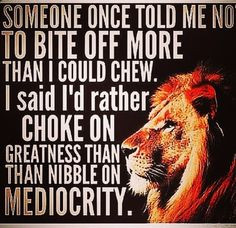 ambitious hungry to achieve greatness More