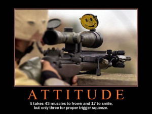... in a section of your Personal Marketing Plan called Attitudes