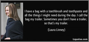More Laura Linney Quotes