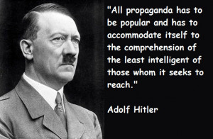 adolf hitlers guiding concept of elitism and racism Swearing, personal abuse, racism, sexism, homophobia and other discriminatory or inciteful language is not acceptable do not impersonate other users or reveal private information about third parties.