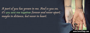 You and Me Together Timeline Cover