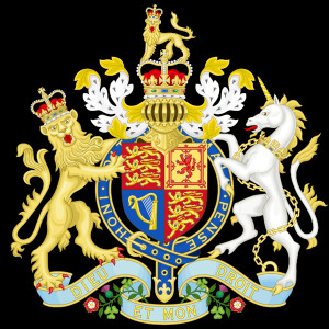 Royal Coat of Arms of the United Kingdom of Great Britain and Northern ...