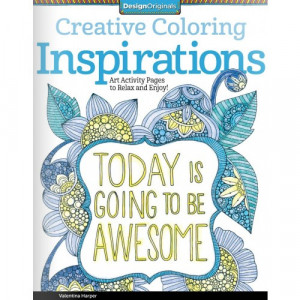 Inspirational Quotes Coloring Book for Adults