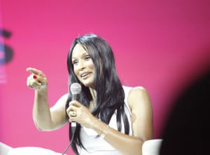 Beverly Johnson says your journey starts with positive speaking