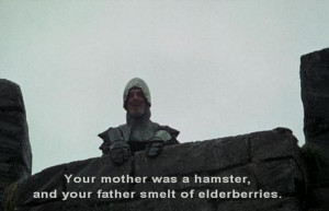 ... 10 picture (gifs) from movie Monty Python and the Holy Grail quotes