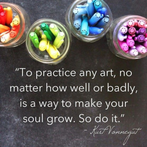 ... to make your soul grow. So do it.