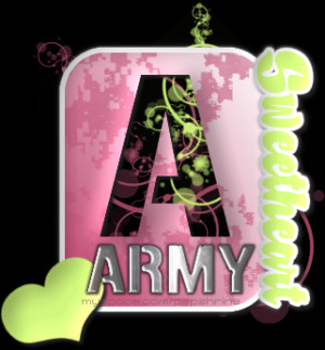 ... army army girlfriend army wife graphics military myspace graphics