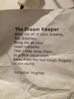 Langston Hughes (a man who dared to dream and to write)