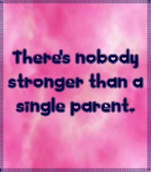 Single mom quote