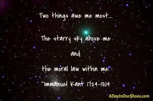 Quote Immanuel Kant...