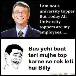 Bill Gates Quotes About Education Funny bill gates