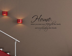 Missing Home Quotes And Sayings Vinyl wall quotes decals #0344