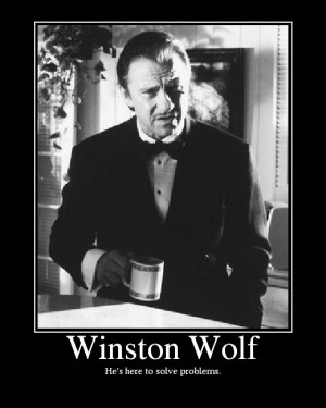 ... , Favorite Movies, Solving Problems, Wolves, The Wolf Pulp Fiction