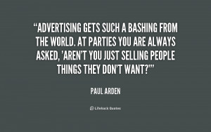 Funny Quotes About Advertising
