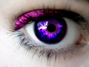 Eyes purple eyes