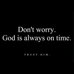 Faith-Quotes: Dont Worry