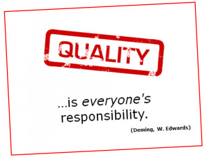 Quality Improvement Quotes Deming ~ 25 Quotes to Inspire Quality ...