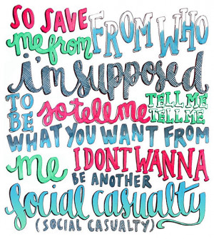 maddiedrawings › Portfolio › Social Casualty Lyrics