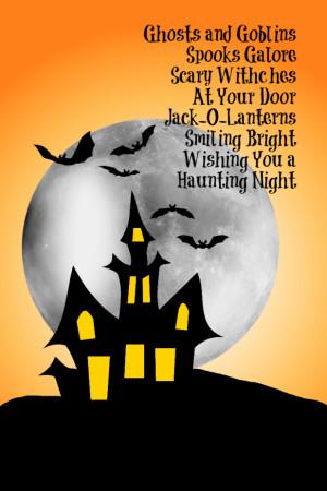 October Halloween Printables