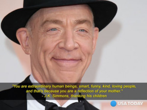 Simmons at the 2015 Oscars. Dan MacMedan/USA Today