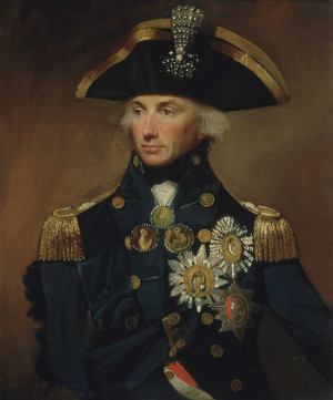 Rear-Admiral Sir Horatio Nelson by Lemuel Francis Abbott (1800).