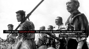 Akira Kurosawa rules (quote from Seven Samurai) - what to know about ...