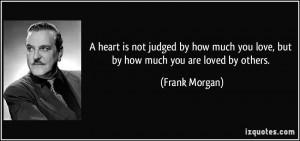 Frank Morgan 39 s Quotes