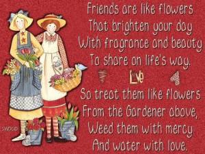 True Friendship Is Like A Rose